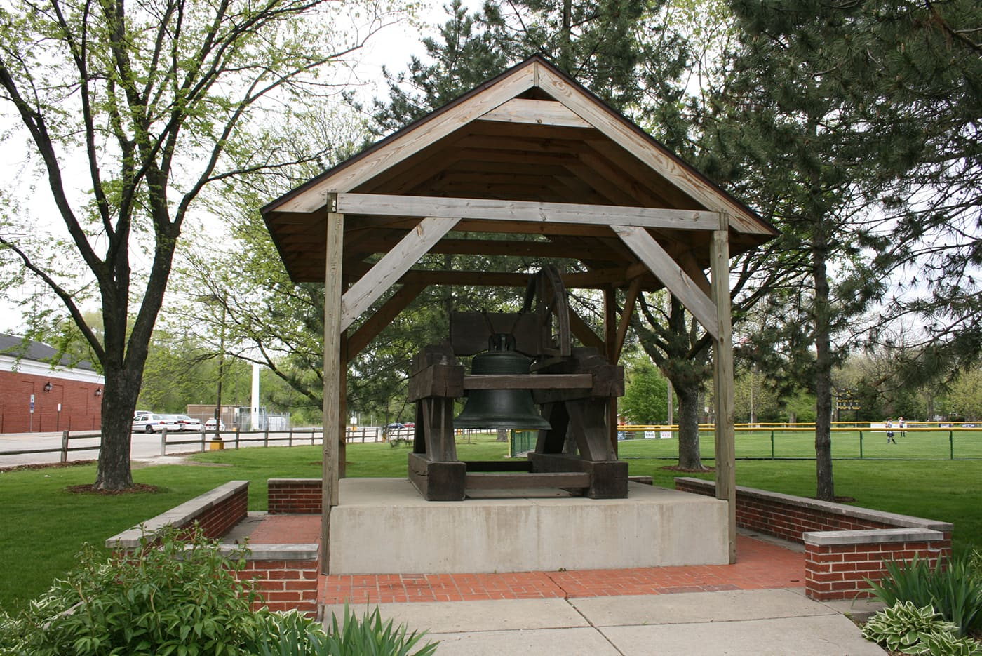 Fake Liberty Bell in Brookfield, Illinois