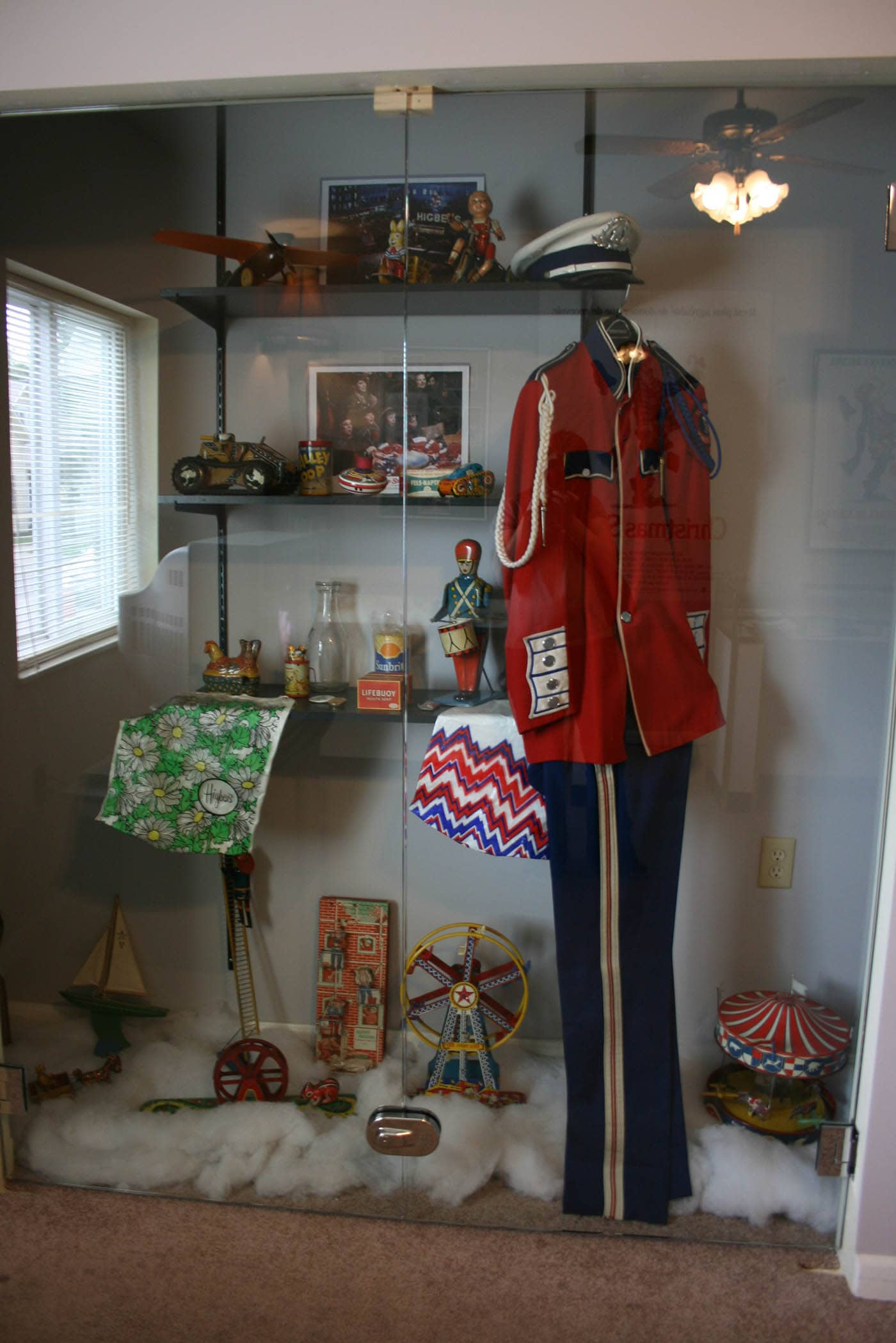 Costumes from the Movie - A Christmas Story House in Cleveland, Ohio