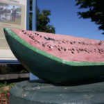 Abraham Lincoln Watermelon Monument in Lincoln, Illinois