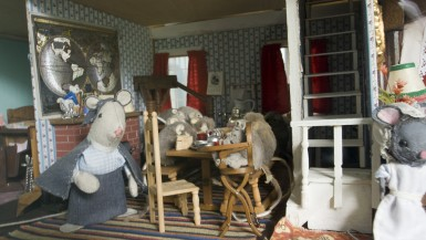 The Old Dolls' House at Midway Village in Rockford, Illinois