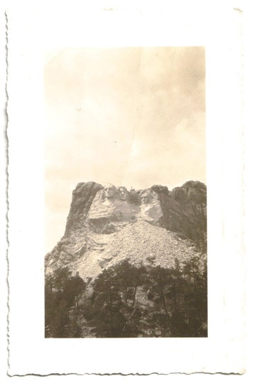 Unfinished Mount Rushmore without Theodore Roosevelt - Mount Rushmore Road Trip