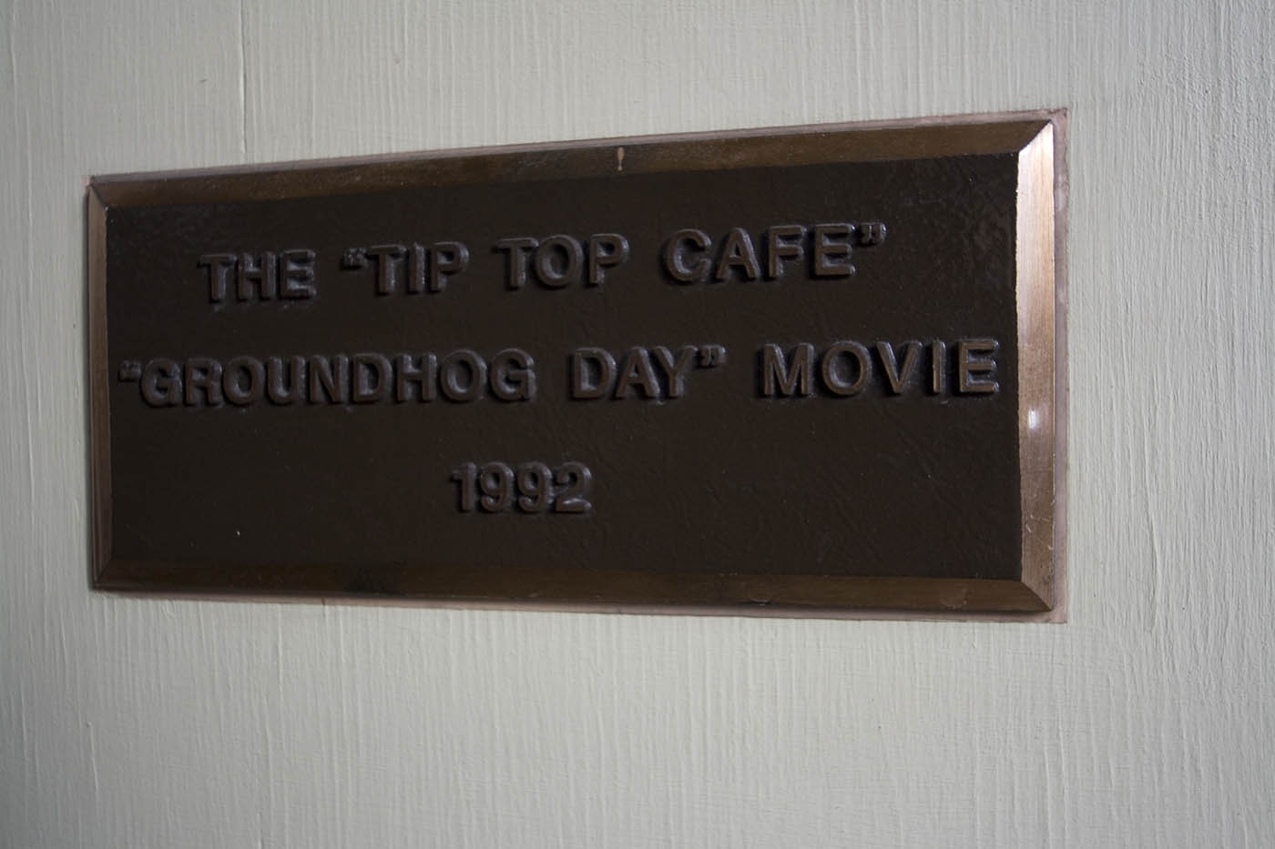 Tip Top Cafe - Groundhog Day Movie Filming Locations in Woodstock, Illinois
