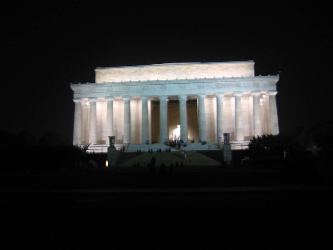 lincoln memorial in washington d.c. - silly america