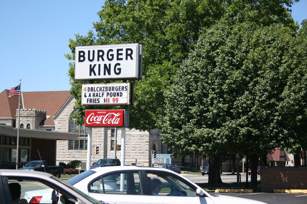? Burger King that is not a Burger King in Mattoon, Illinois