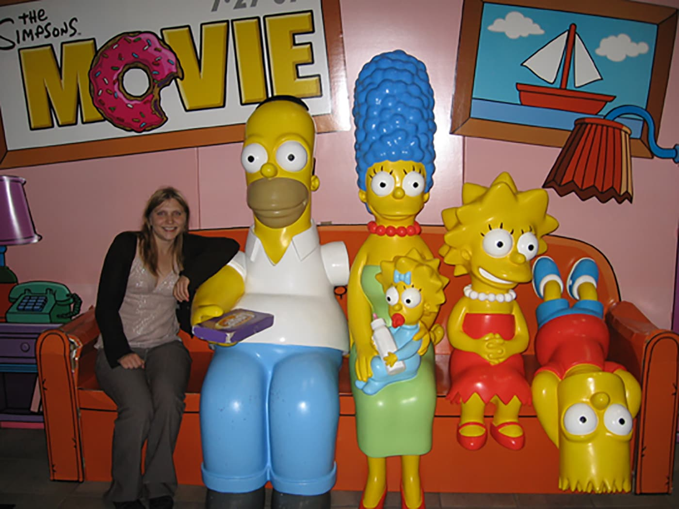 The Simpsons Family On Their Couch Silly America