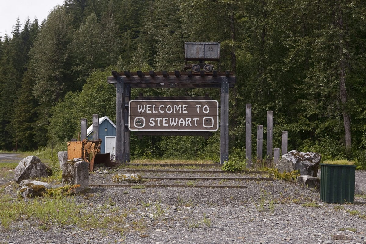 Visiting Stewart, British Colombia & Alaska