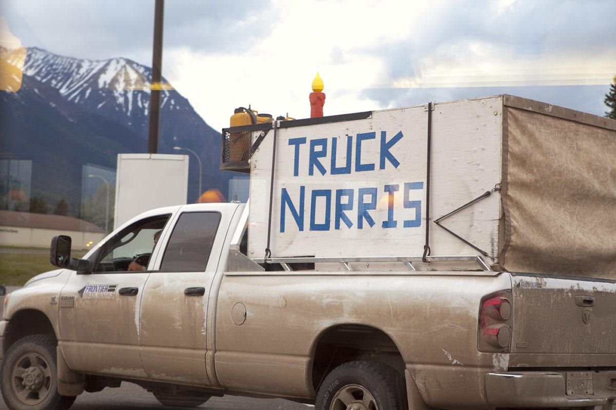 Truck Norris – Have you seen this truck?