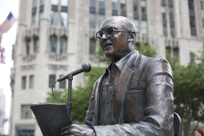Jack Brickhouse Memorial Statue