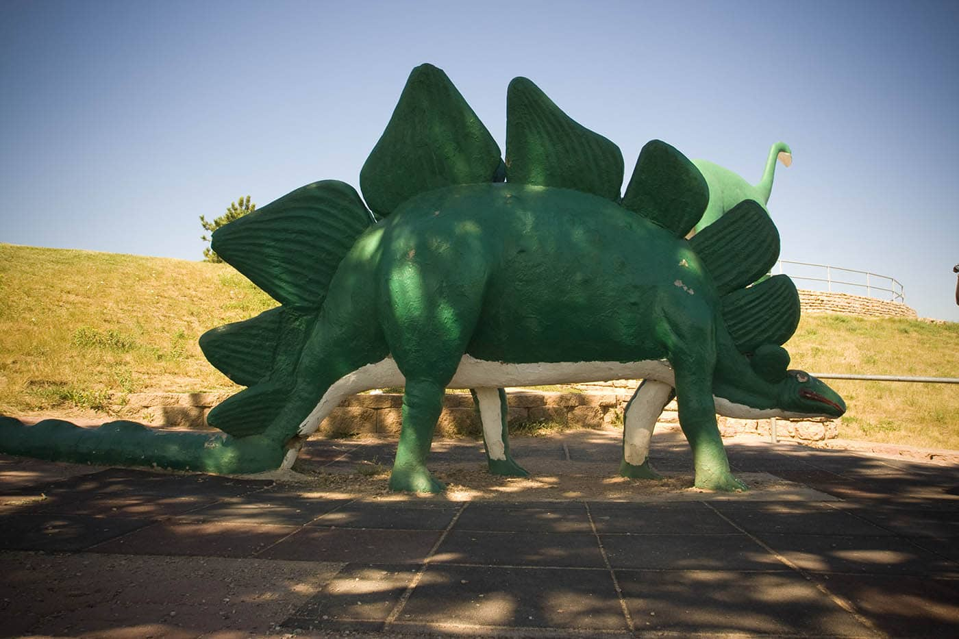 Rapid City Dinosaur Park in South Dakota