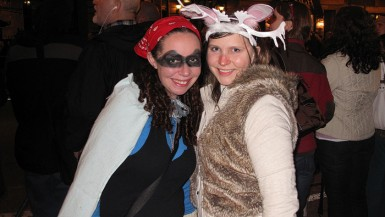 Roadside attraction-inspired Halloween costumes. Jackalope halloween costume.