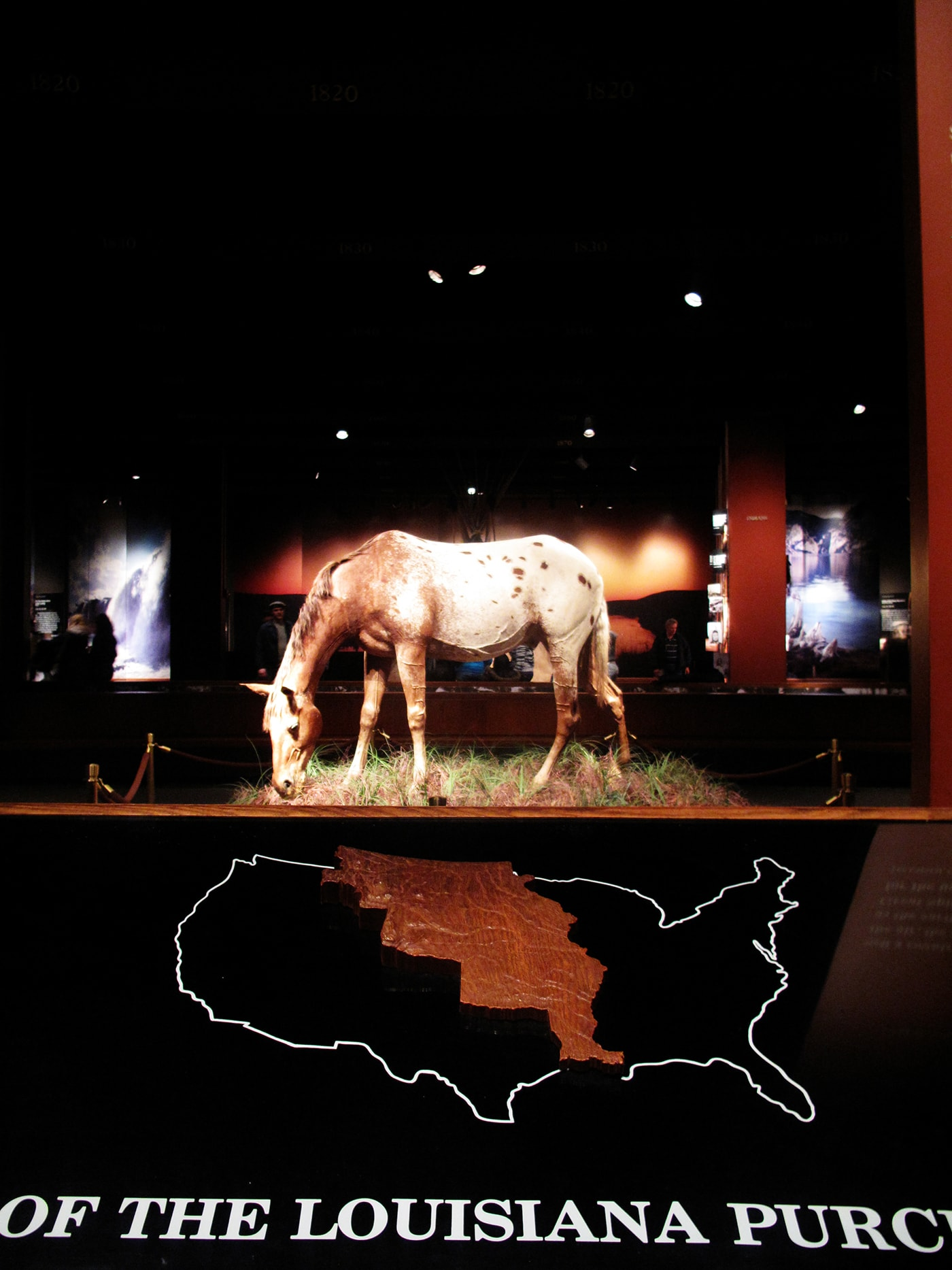 Museum of Westward Expansion in the Gateway Arch in St. Louis, Missouri