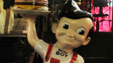 Big Boy statue at the City Museum in St. Louis, Missouri