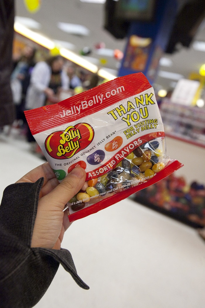 Jelly Belly Center Tour