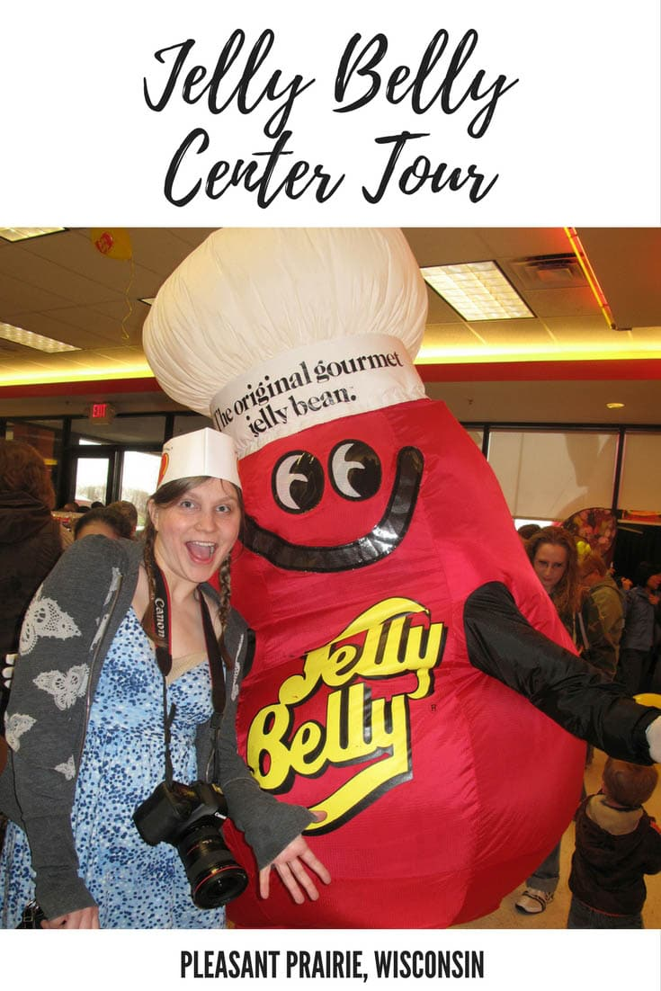 Jelly Belly Center tour in Pleasant Prairie, Wisconsin: go behind the scenes of the warehouse to see how your favorite jelly bean is made (samples included). A fun stop on a Wisconsin road trip to add to your itinerary and bucket list. A perfect road trip stop for kids and adults traveling across Wisconsin. #WisconsinRoadsideAttractions #RoadTrip #WisconsinRoadTrip #ThingsToDoInWisconsin #BeautifulPlaceWisconsin #WisconsinRoadTripIdeas #WisconsinRoadTripWithKids #RoadTripStops