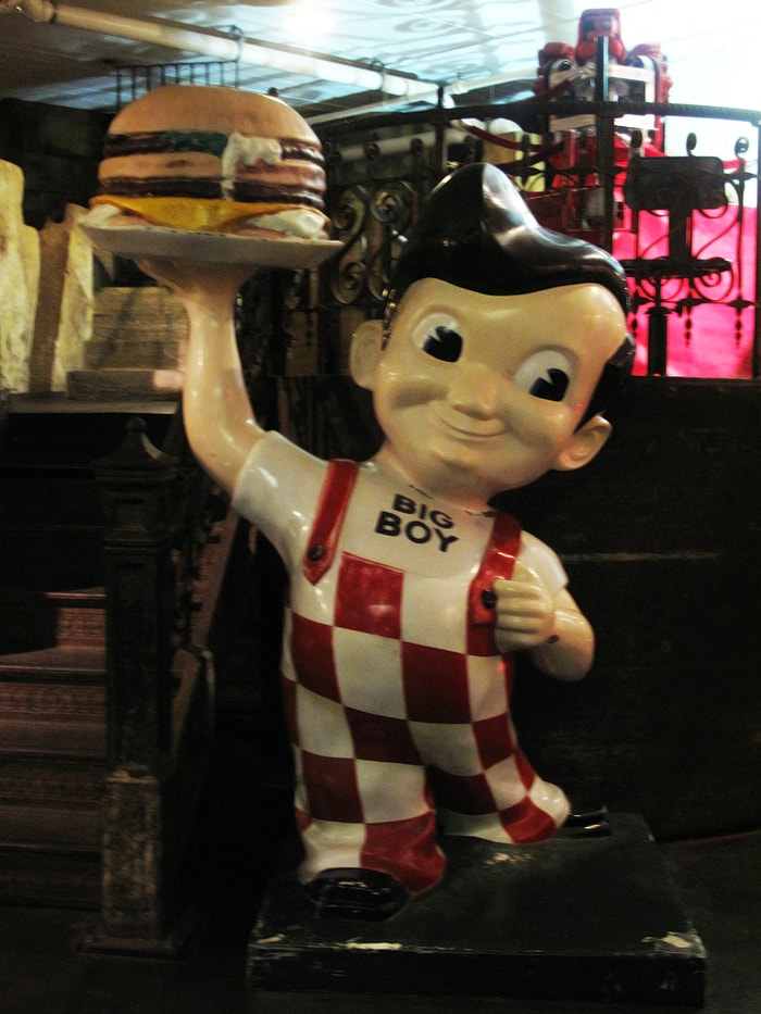 Big Boy at the City Museum