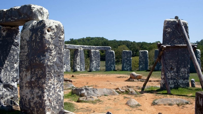 Foamhenge in Natural Bridge, Virginia - Roadside Attractions in Virginia
