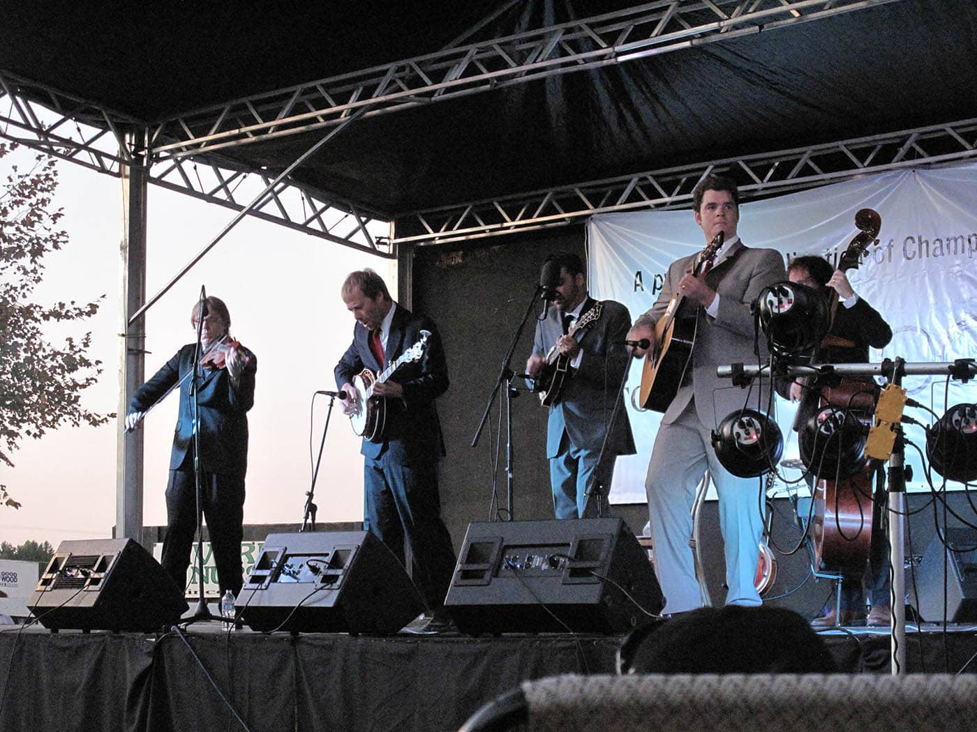 Steep Canyon Rangers at RedBone Willy's Bluegrass Festival