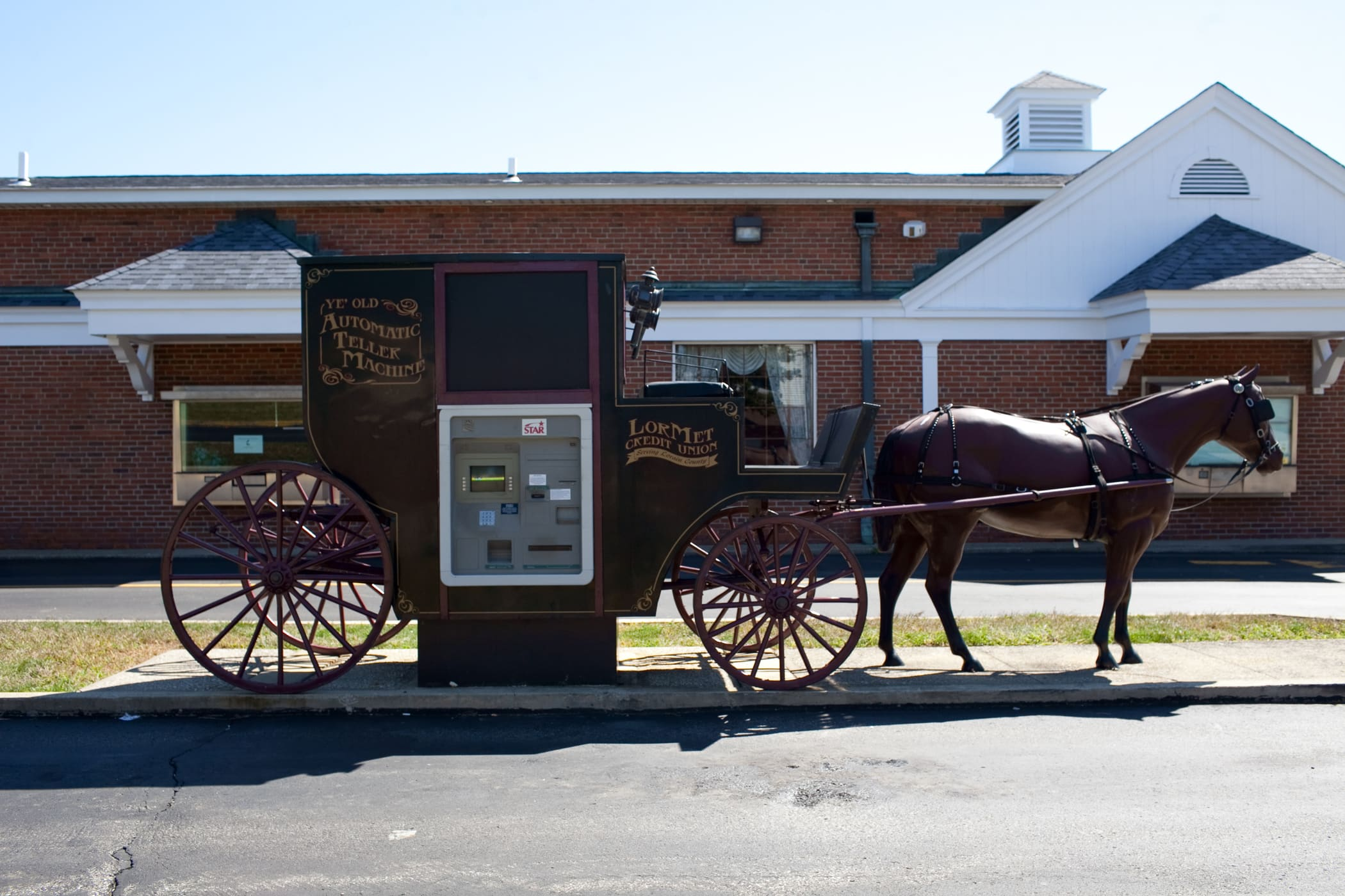 ?? Horse and Buggy ATM in Wellington, Ohio