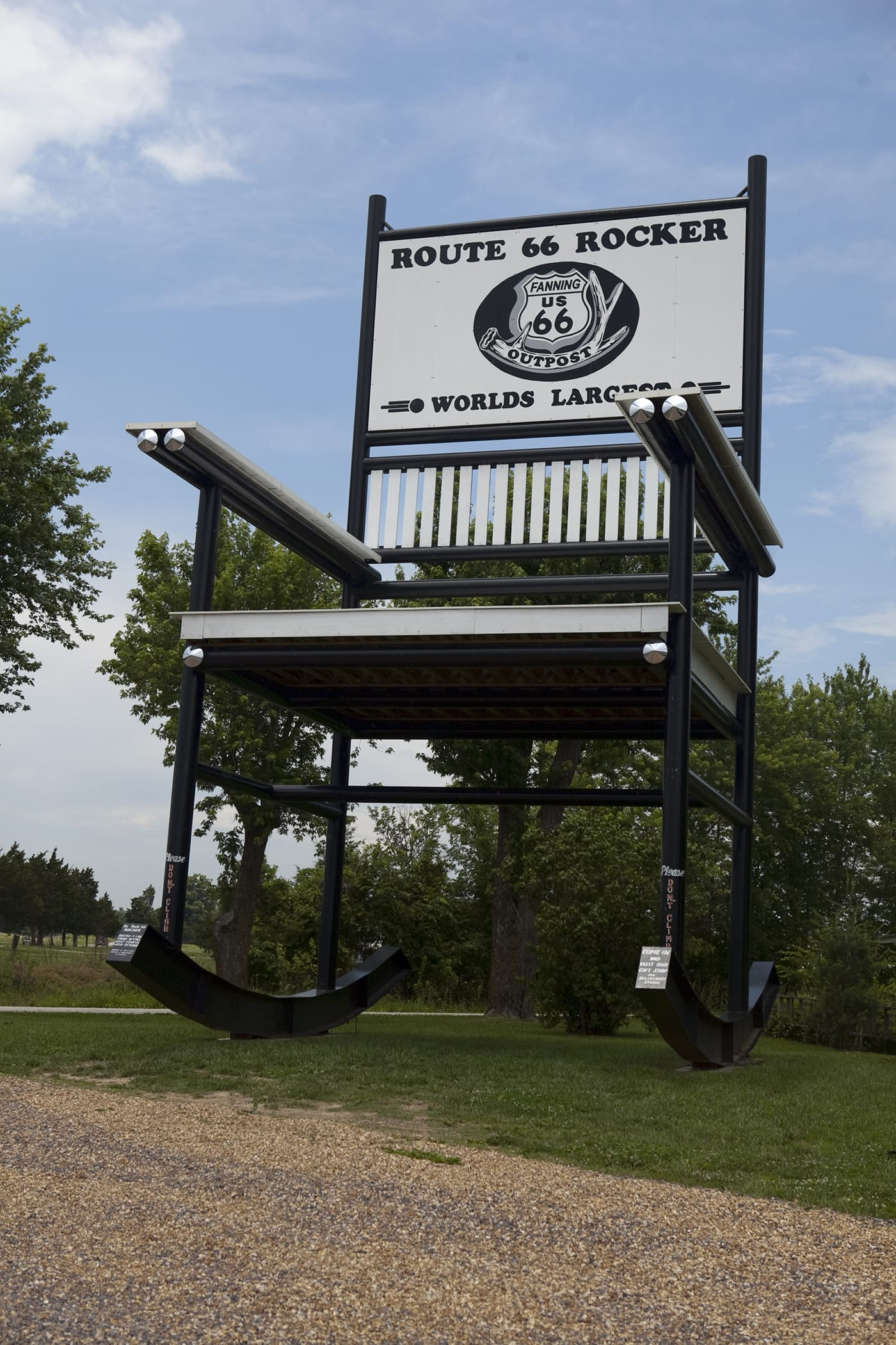 Admirable Worlds Largest Rocking Chair Route 66 Red Rocker In Cuba Alphanode Cool Chair Designs And Ideas Alphanodeonline