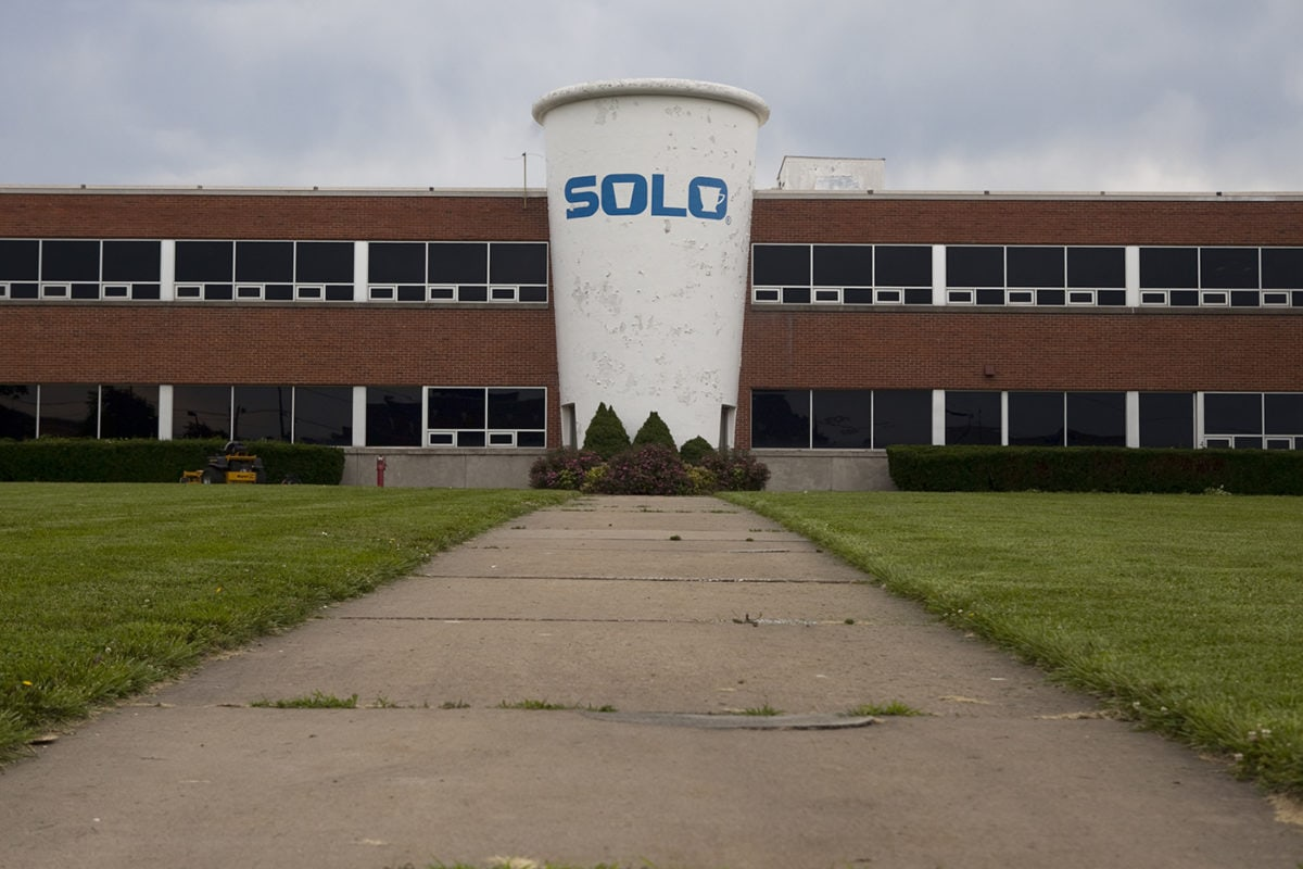 Giant Solo Paper Cup in Springfield, Missouri