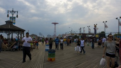 Parachute Jump at Coney Island in Brooklyn, New York