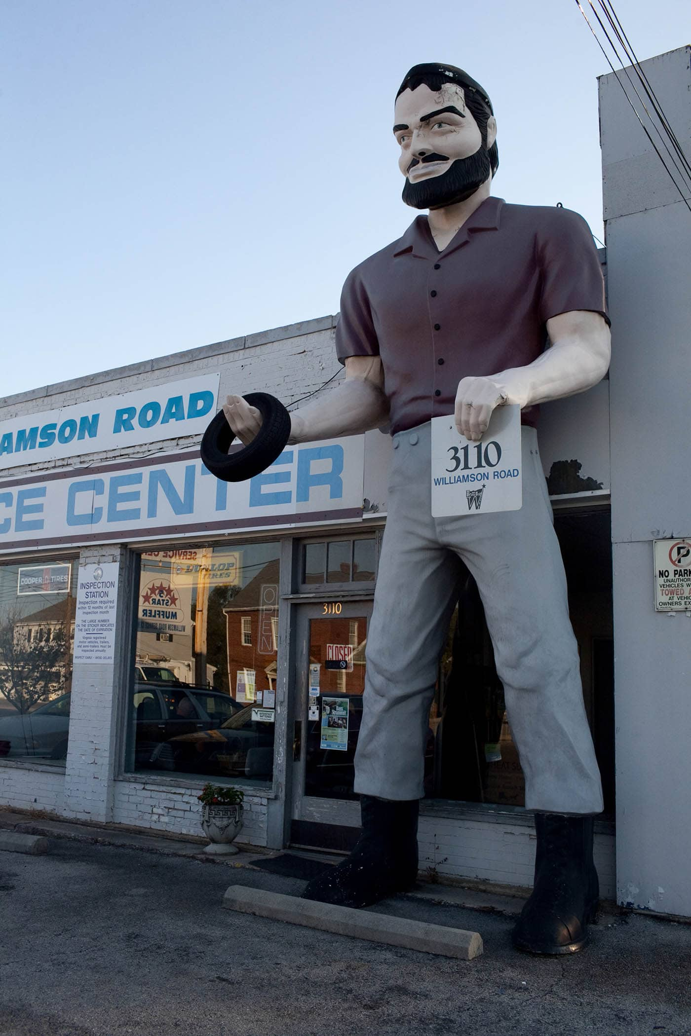 Muffler Man in Roanoke, Virginia