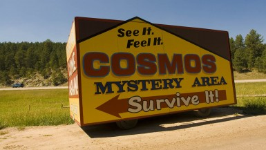 Cosmos Mystery Area in Rapid City, South Dakota