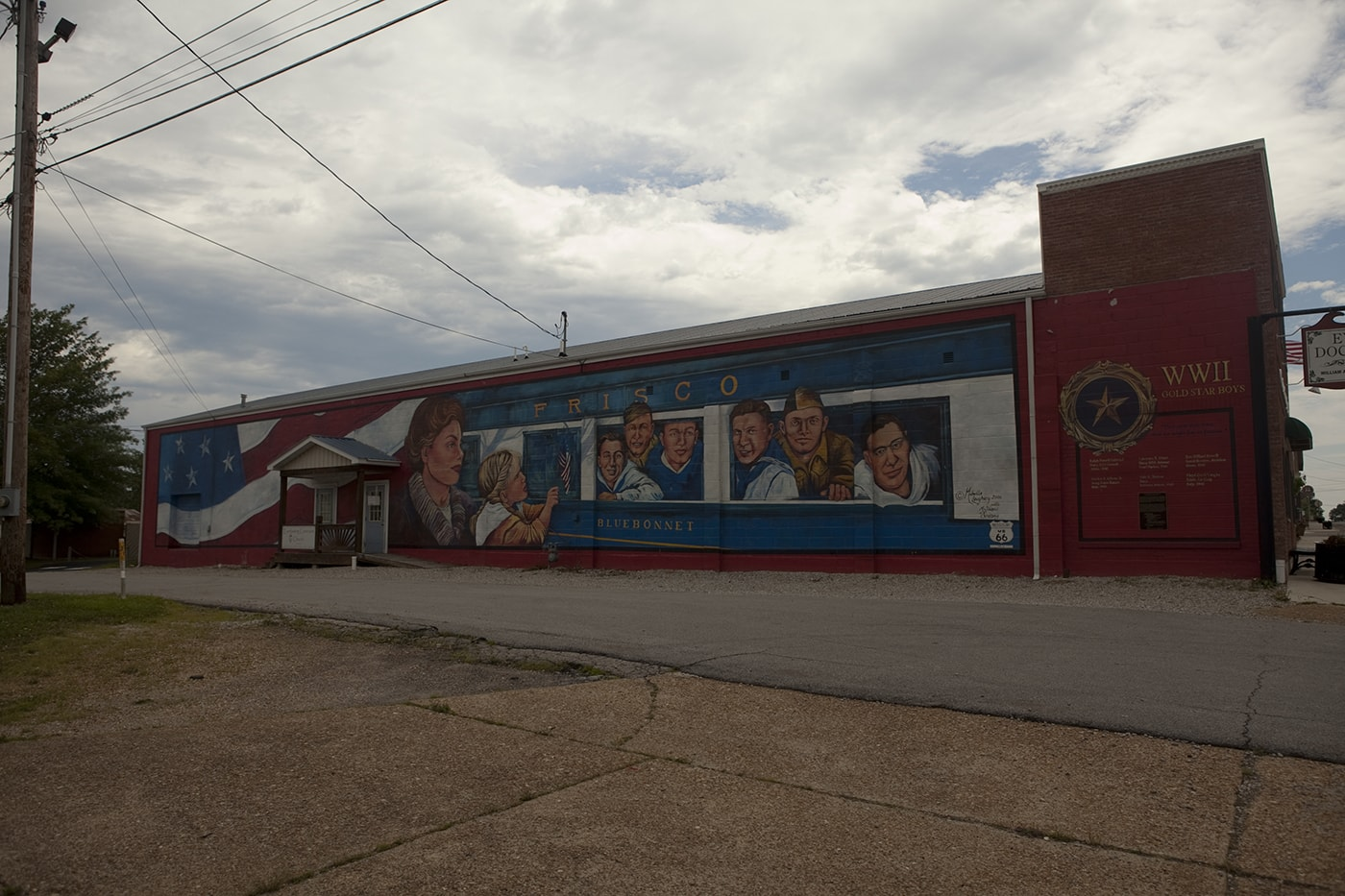 Route 66 Murals In Cuba Missouri Silly America