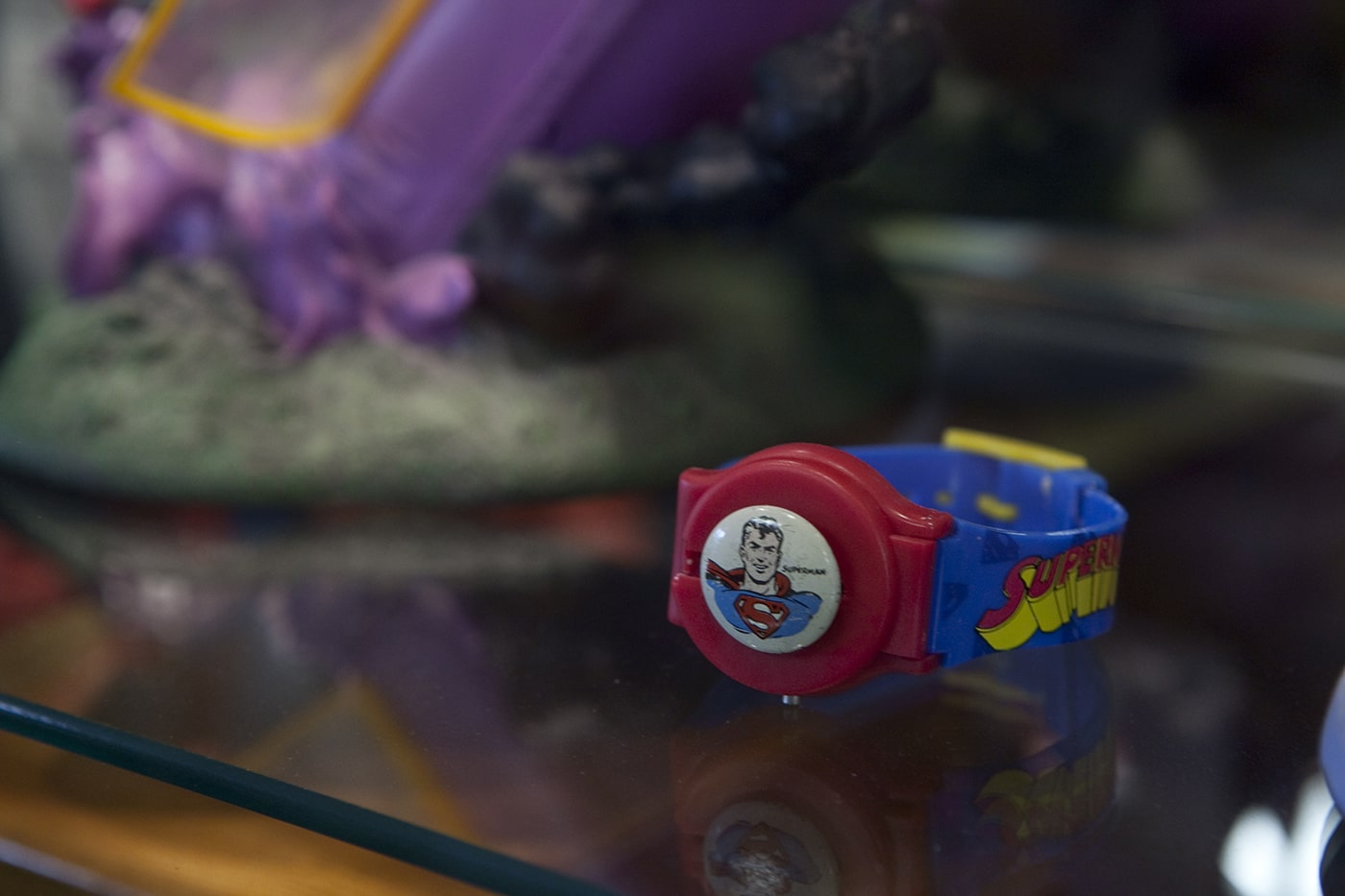 Superman watch. SuperTAM on 66 - Superman Memorabilia & Ice Cream in Carterville, Missouri