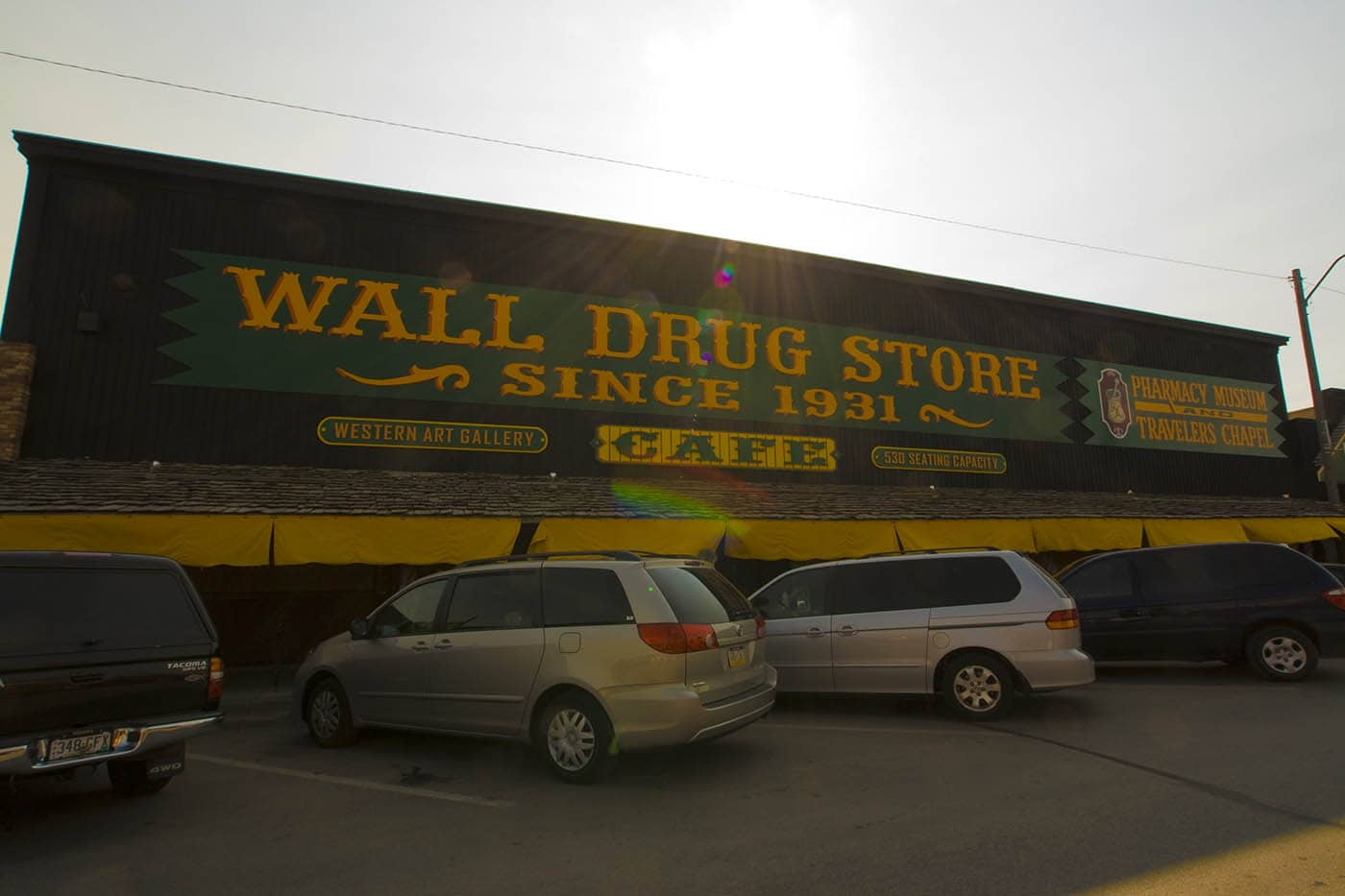 Wall Drug Store in Wall, South Dakota