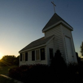 Wayside Chapel - Tiny Church in Luverne, Minnesota