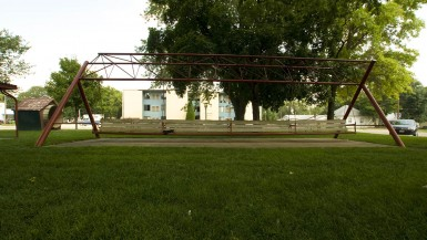 World's Largest Porch Swing in Hebron, Nebraska