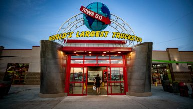 World's Largest Truckstop in Iowa - Iowa 80 Truck stop - roadside attractions in Iowa
