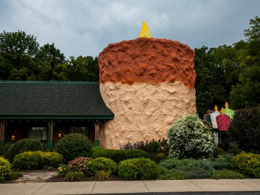 World's Largest Candle in Centerville, Indiana