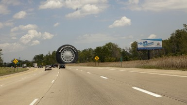 World's Largest Tire in Allen Park, Michigan