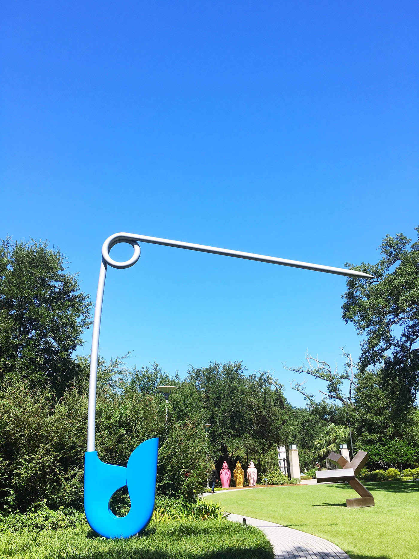 Giant Safety Pin in New Orleans, Louisiana