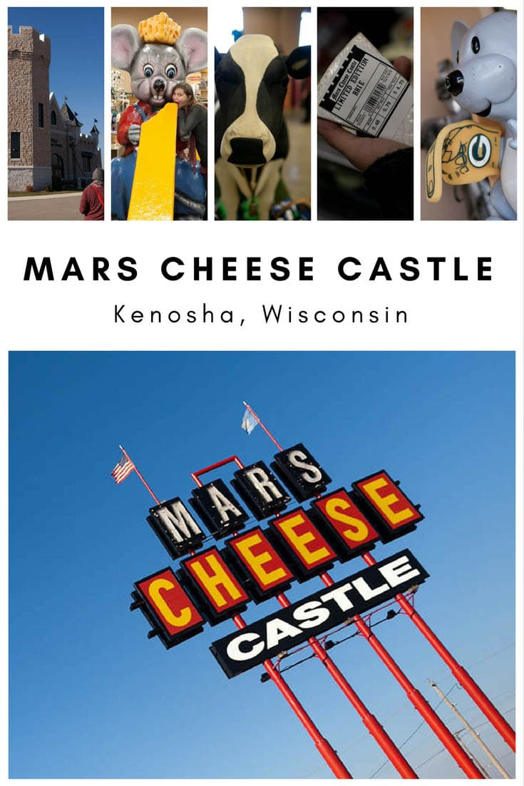 There's a castle in Wisconsin revered by locals and sought out from distinguished travelers from near and far. You guessed it, this Wisconsin tourist attraction can only be the one and only Mars Cheese Castle. Mars Cheese Castle is a cheesy tourist attraction and Wisconsin cheese shop shaped like a castle off if Interstate 94.  #WisconsinRoadsideAttractions #WisconsinRoadsideAttraction #RoadsideAttractions #RoadsideAttraction #RoadTrip #WisconsinRoadTrip  #ThingsToDoInWisconsin