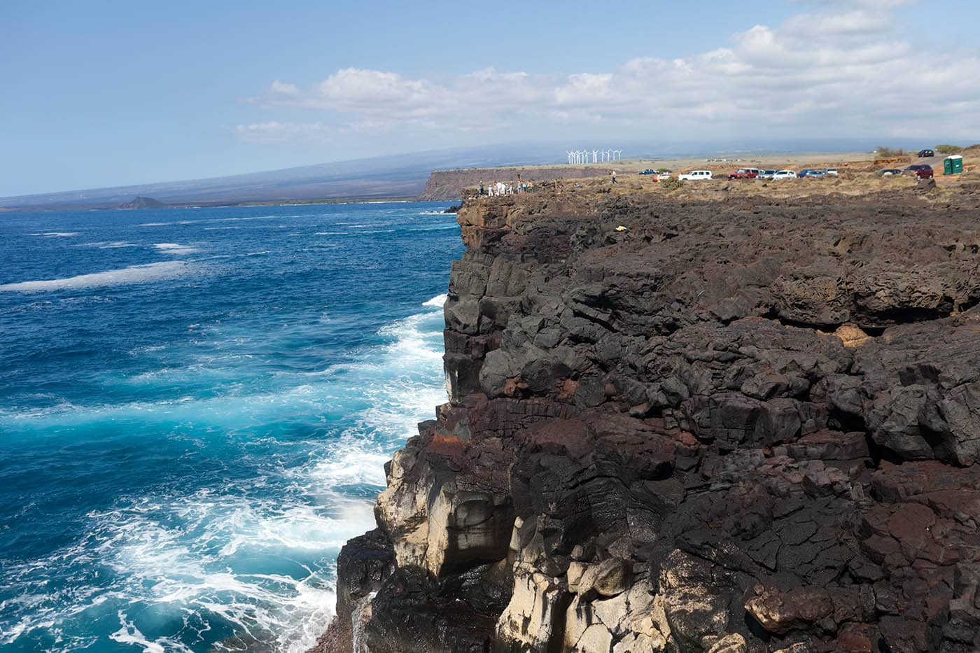 Ka Lae, the Southernmost Point in the U.S., on Big Island, Hawaii