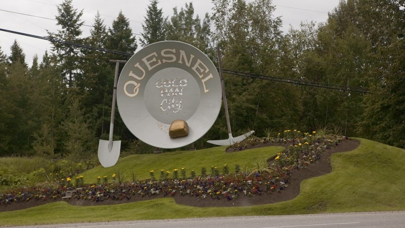 World's Largest Gold Pan - Quesnel, British Columbia, Canada
