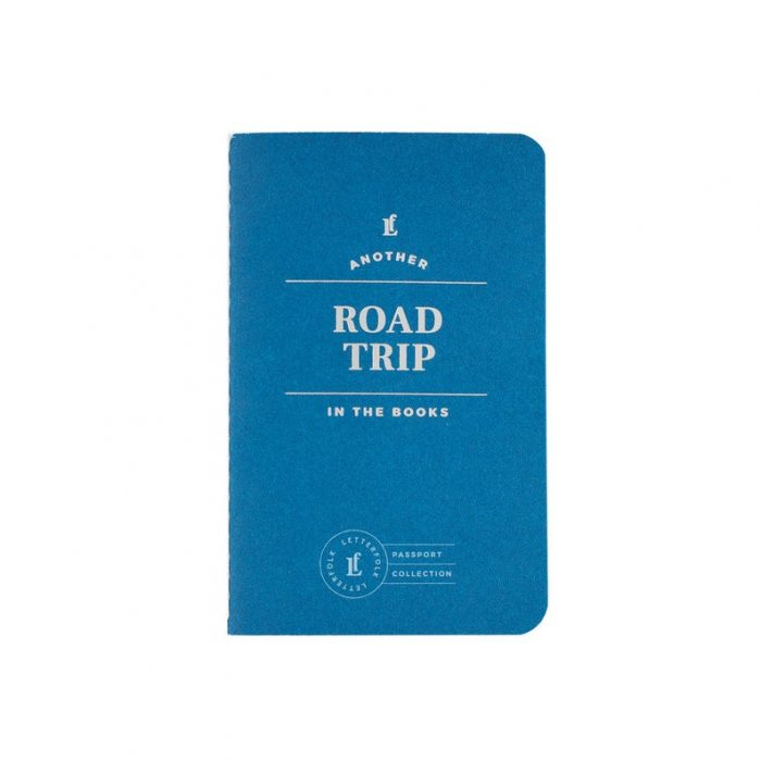 Road Trip Passport – Travel Journal by Letterfolk  | 50 Best Road Trip Gift Ideas for Road Trip Travelers