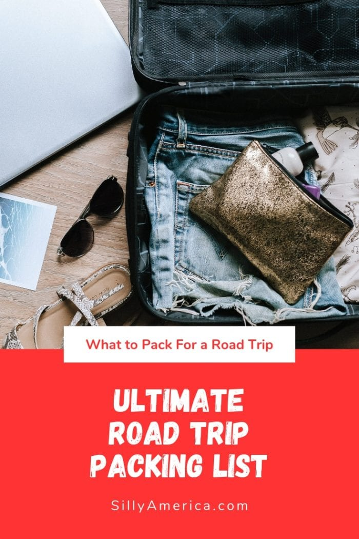 Hitting the road and trying to figure out what to pack for a road trip? We've compiled this ultimate road trip packing list to get you organized. Whether you're traveling cross country or taking a weekend getaway this road trip packing list is full of essentials you can't leave behind. With road trip packing tips & hacks for kids, adults, and teens, your car and backpacks will be organized with everything you need. #RoadTripPacking #RoadTripPackingList #RoadTripPackingHack #RoadTripPackingTips