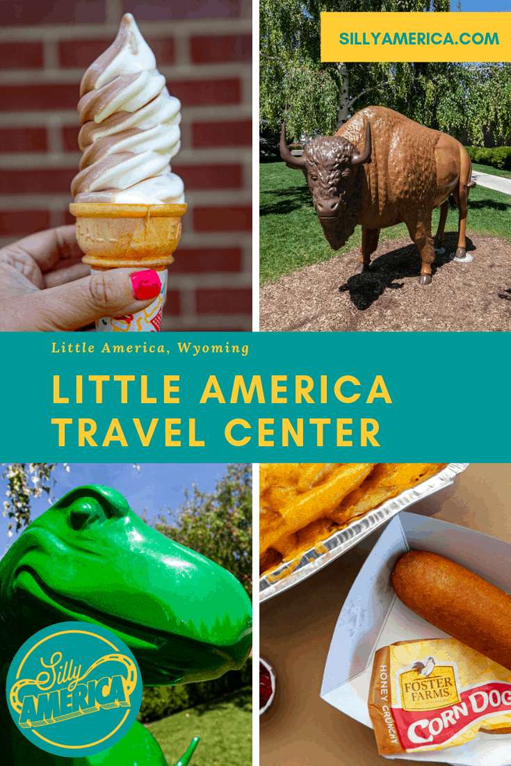 Little America Travel Center in Little America, Wyoming. | Wyoming Roadside Attractions
