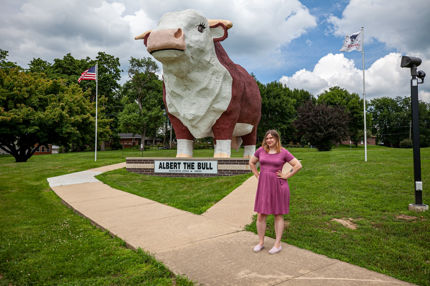 Albert the Bull - the World's Largest Bull in Audubon, Iowa | Iowa Roadside Attractions