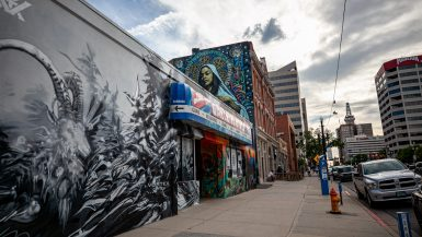 Ave Maria Mural in Salt Lake City, Utah | Salt Lake City Murals in Utah | Street Art