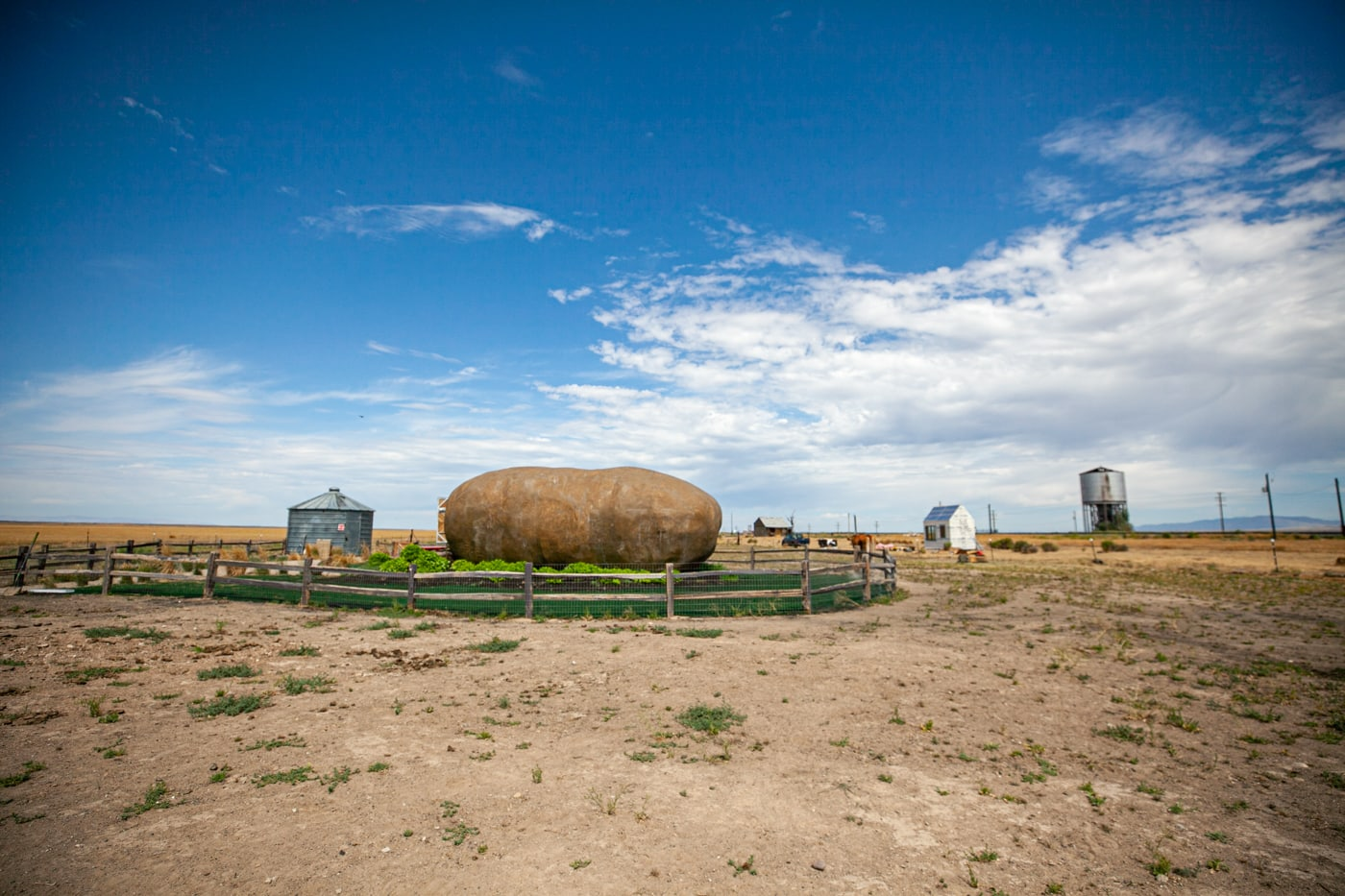 Big Idaho Potato Hotel AirBNB in Boise, Idaho - an AirBNB made from a giant potato | Idaho Roadside Attractions  and Weird Hotels