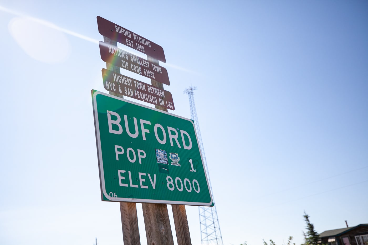 Buford, Wyoming: The Smallest Town in America with a population of 1 | Wyoming Roadside Attractions