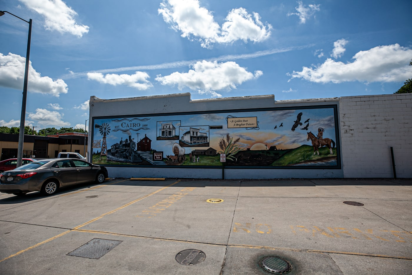 Cairo, Nebraska Mural | Street Art in Nebraska