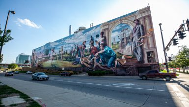 Fertile Ground Mural in Omaha, Nebraska | Omaha Street Art in Nebraska