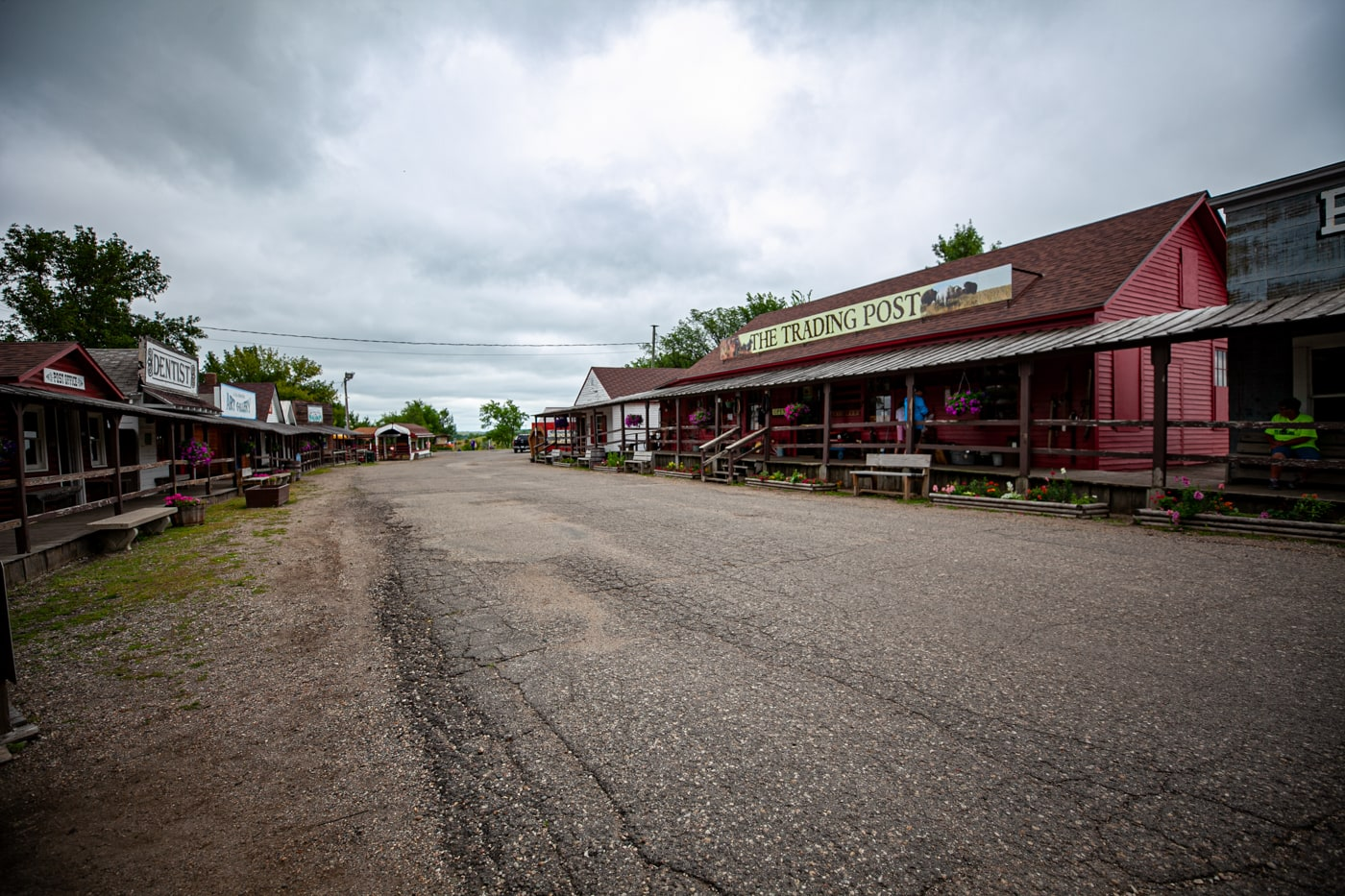 The Trading Post at Frontier Village in Jamestown, North Dakota | Roadside Attractions in North Dakota