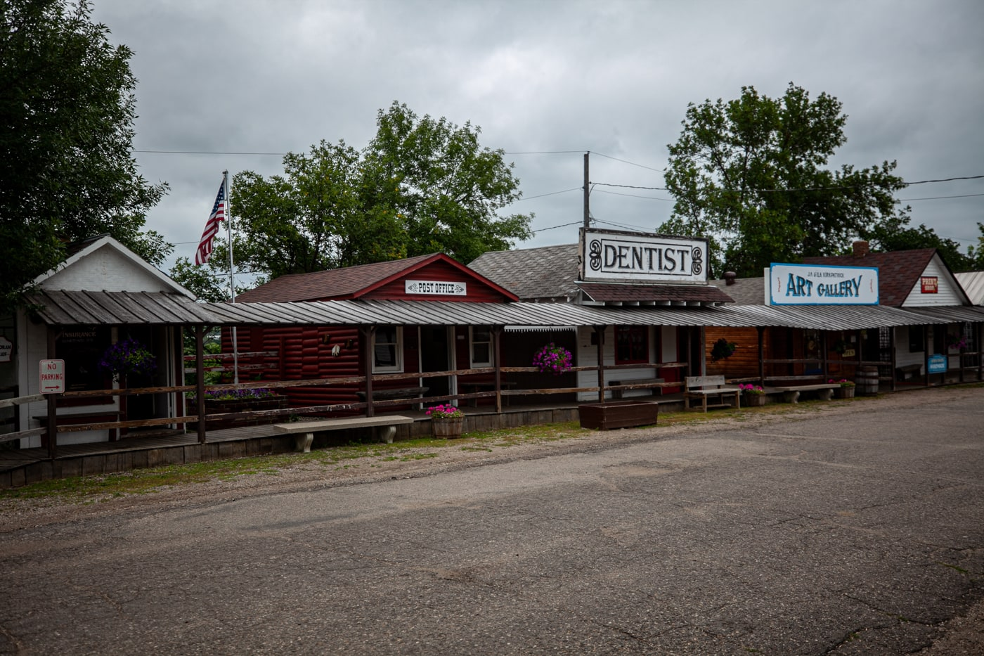 Frontier Village in Jamestown, North Dakota | Roadside Attractions in North Dakota